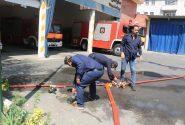دوره آموزشی اطفاء حریق در دهستان سولقان