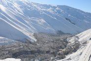 فصل زمستان در روستای سولقان