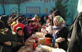 برگزاری جشنواره غذا در مجتمع آموزشی شهیدان آقامحمدی و شیرین