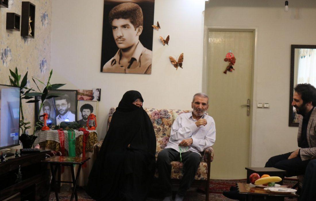 پیام تسلیت دهیار سولقان بمناسبت درگذشت پدر شهید حمید رضا شیرین