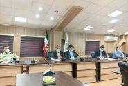جلسه کمیته پیشگیری ،هماهنگی و عملیات پاسخ به بحران بخش کن