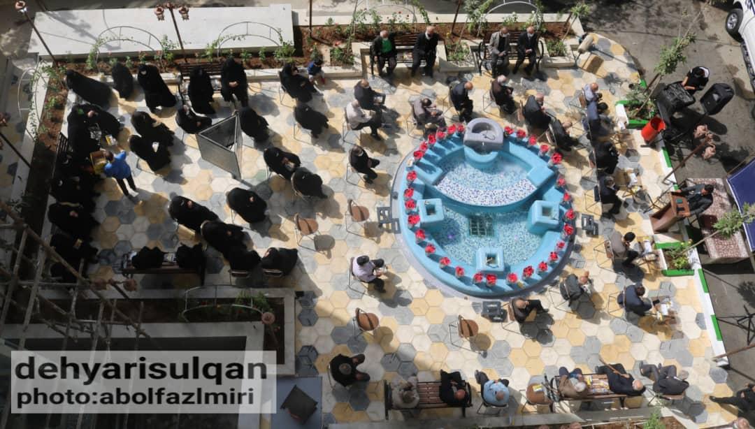همزمان با هفته جهانی سالمندان پارک غدیر سولقان افتتاح شد