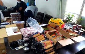 سومین مرحله از توزیع سالانه بسته مواد غذایی در قالب کمک مومنانه به خانوارهای کم بضاعت سولقان توسط دهیاری انجام شد
