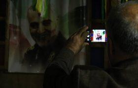 بازدید شهروندان از یادمان شهدای سولقان