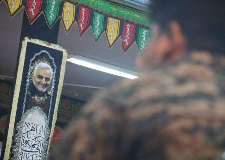 مجموعه تصاویر بزرگداشت شهدای عملیات کربلای پنج و اولین سالگرد شهید قاسم سلیمانی