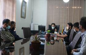 جلسه دهیار با پرسنل برگزار شد